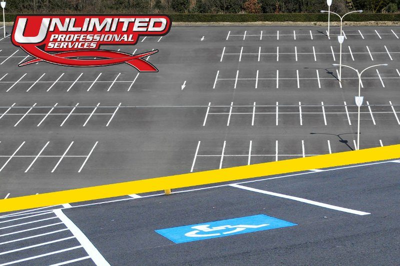 parking lot striping nc