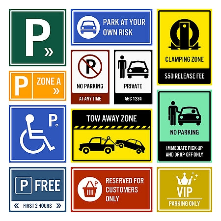 Parking Lot Signs Unlimited Professional Services